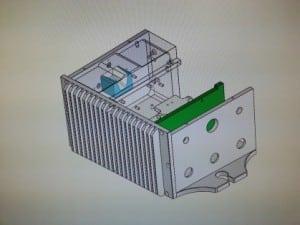 SolidWorks modell av Blitzhus