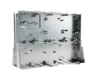Stort deksel i aluminium