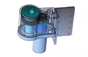 MOTORHUS TIL PC-ARM